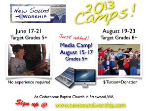 New Sound Worship Camp Ads 2013.003